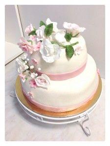 bröllopstårta tant fondant