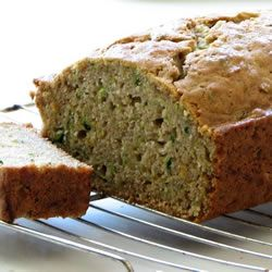 Zucchini lemon bread -- SO good!