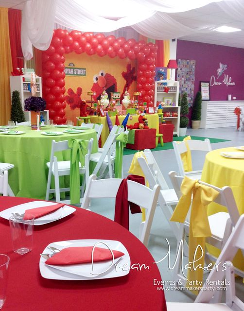 Elmo & Sesame Street Birthday Party Ideas | Photo 2 of 20 | Catch My Party