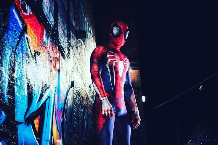 Shoutout Saturday! The best cosplay today goes to @thespiderbran with this sick Spider-Man Costume definitely very original and creative and remember guys the New SpiderMan game is coming out soon! Enjoy this Awesome Cosplay #spiderman #spidermanhomecoming #spidermancosplay #cosplay #marvel #stanlee #peterparker #insomniacgames #ps4 #sony #comics #marvelcosplay #marvelcomics #avengers #avengersinfinitywar #avengersassemble #spidey #nerd #geek