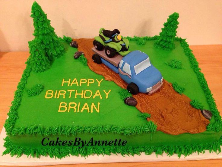 Adult Birthday Sheet Cakes