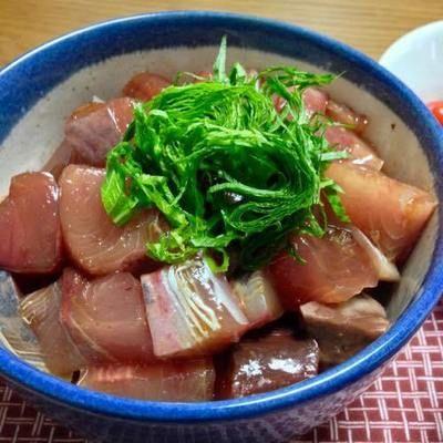 ブリ・カツオ・ヒラマサで高DHA.EPAの海鮮丼 by DE-OILさん | レシピ ...