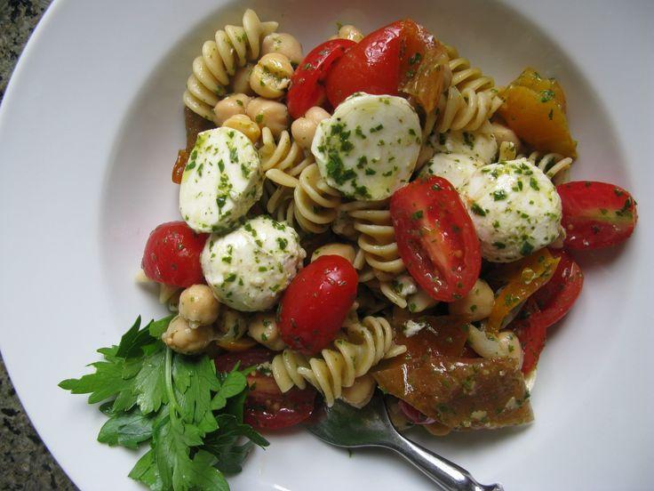 Recipe-Free: Pasta Salad — JulieHartigan.com - Where Happy, Meets Healthy