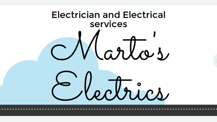 When you need an #electrician, who do you call? The very best and that's us, Marto's Electrics, for all your #electrical needs. #ElectriciansJoondalup