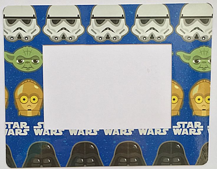 star wars refrigerator magnet 4 x 6 photo size disney picture frame - Disney Picture Frames