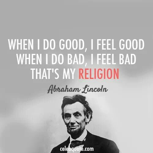 Abraham Lincoln Famous Quotes: Abraham #lincoln #quote #religion