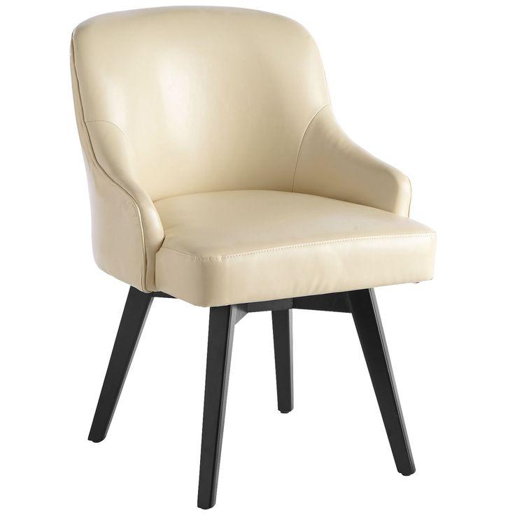 Bennie Ivory Swivel Chair
