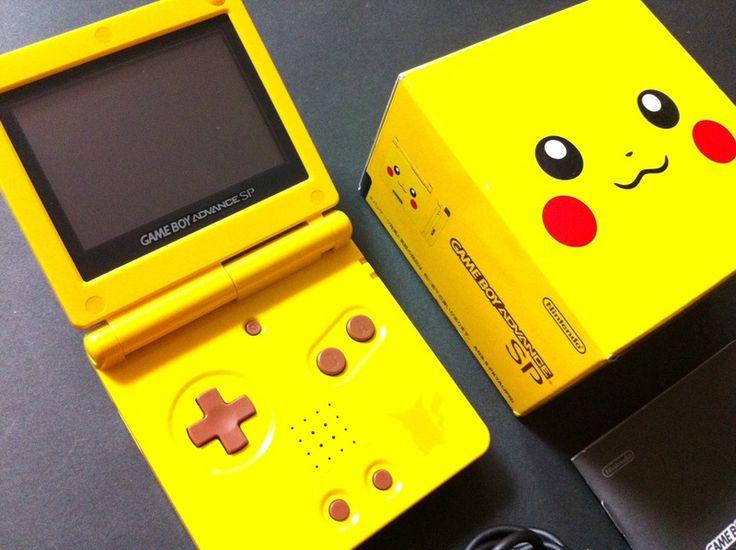 Limited Edition Pokemon Game Boy Advance SP Pikachu