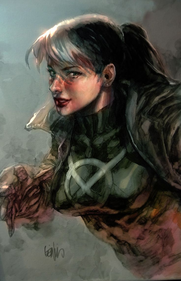 brianmichaelbendis:    Rogue by Leniel Francis yu