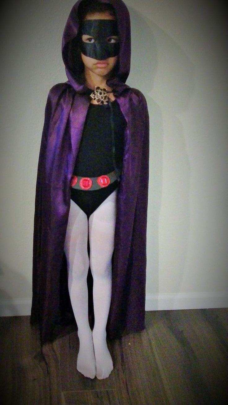Raven Teen Titans Go Costume Costume I put together...
