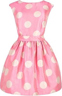 Pretty in Pink Polka dots!