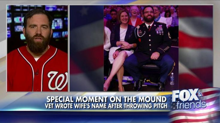 Best First Pitch Ever?! Army Vet Lobs Baseball Like a Grenade   Fox News Insider