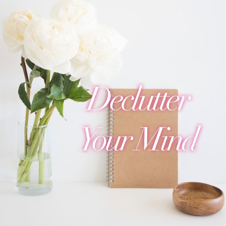 If you need to declutter your mind try these easy, useful tips to get you back to your full potential fast.