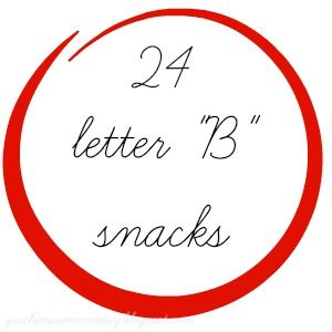 19 best Letter of the Week Snacks images on Pinterest