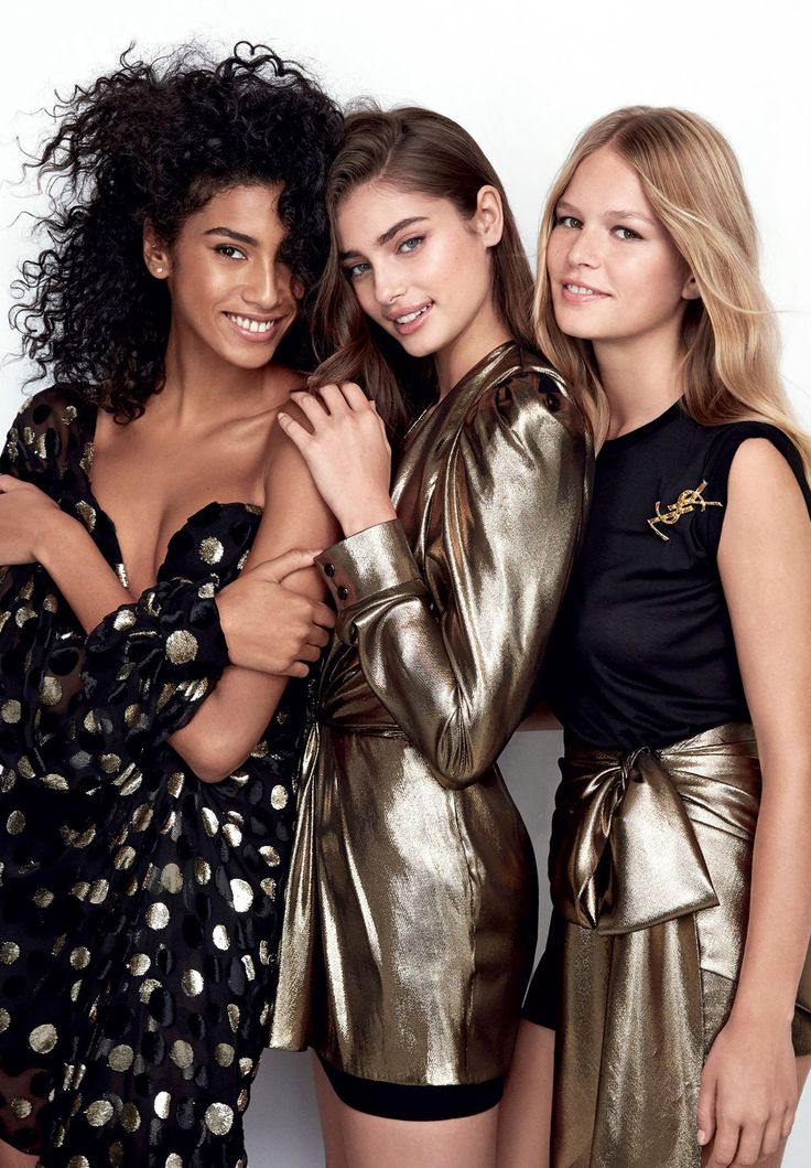 WHO RUN THE WORLD? GIRLS PHOTOGRAPHER: PATRICK DEMARCHELIER MODEL: IMAAN HAMMAM, TAYLOR HILL, ANNA EWERS STYLING: KATE PHELAN HAIR: DUFFY MAKE UP: DIANE KENDAL NAILS: MEGUMI YAMAMOTO