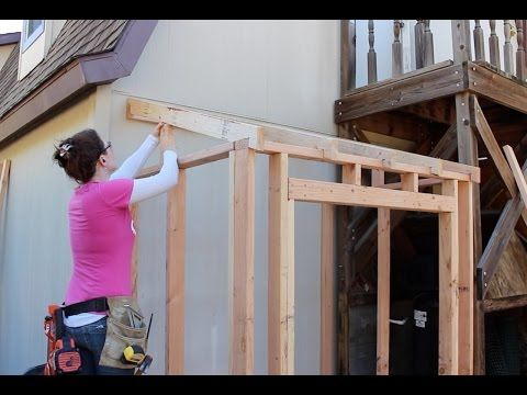Building a Lean To Shed – Framing and Siding | Wilker Do's