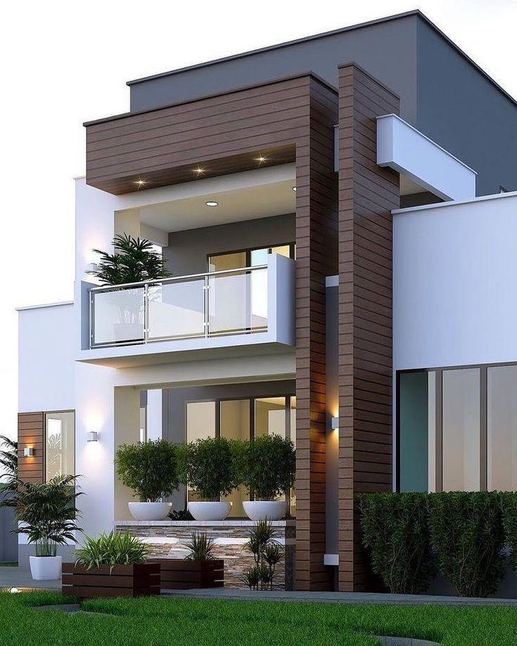 19 Best of Minimalist Houses Design Ideas   Facade house, Modern ...