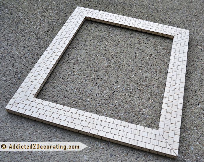 Awesome 30 Ideas Of Mosaic Tile Framed Bathroom Mirrors