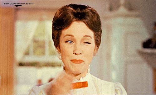 Which talented actress played Mary Poppins?