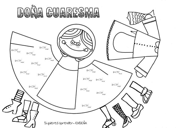 Si quieres aprender, ENSEÑA.: Doña Cuaresma