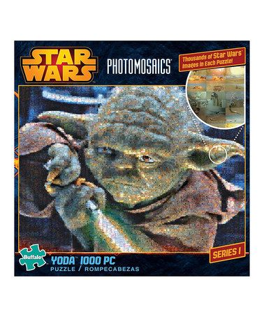 This Star Wars Yoda 1000 Piece Photomosaic Puzzle By Is Perfect