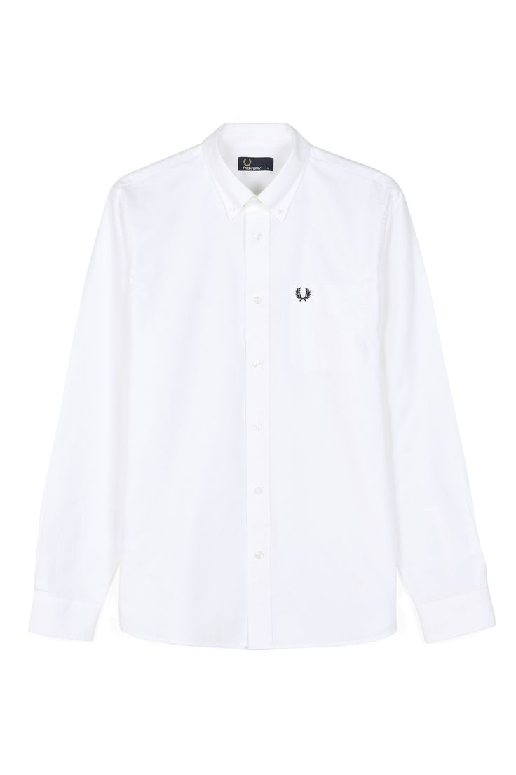 Fred Perry - Classic Oxford Shirt White