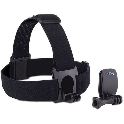 Gopro Head Strap Mount + Quickclip: GoPro`s Head Strap Mount + Quickclip is designed for a variety of… #OutdoorGear #Camping #Hiking