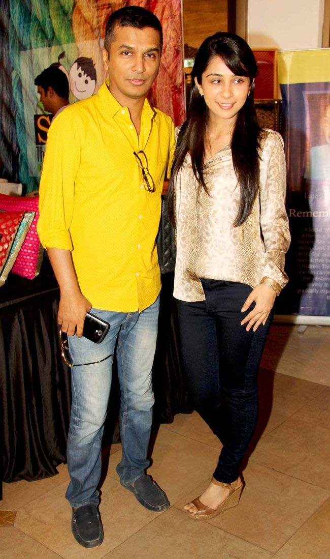 Vikram Phadnis with a friend at the store launch of Suniel Shetty's wife Mana. #Style #Page3 #Fashion #Beauty