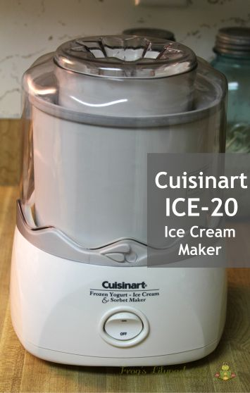 Cuisinart ICE-20 Ice Cream Maker Review