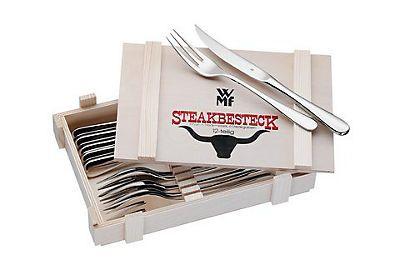 Steakbesteck in Holzkiste, WMF (12tlg.) im Universal Online Shop