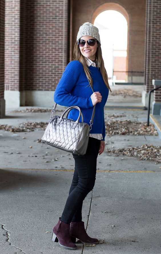 Wearing Metallics in the Winter | The Blue Eyed Dove