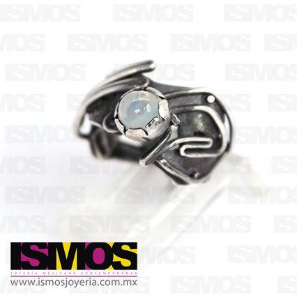 ISMOS Joyería: anillo de plata con ópalo // ISMOS Jewelry: silver and opal ring