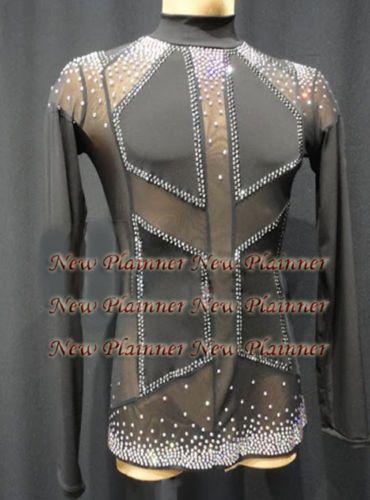 650d705c126c M405-XL-size-Ballroom-Men-Latin-Salsa-Dance-Shirt-black-lycra-mesh ...
