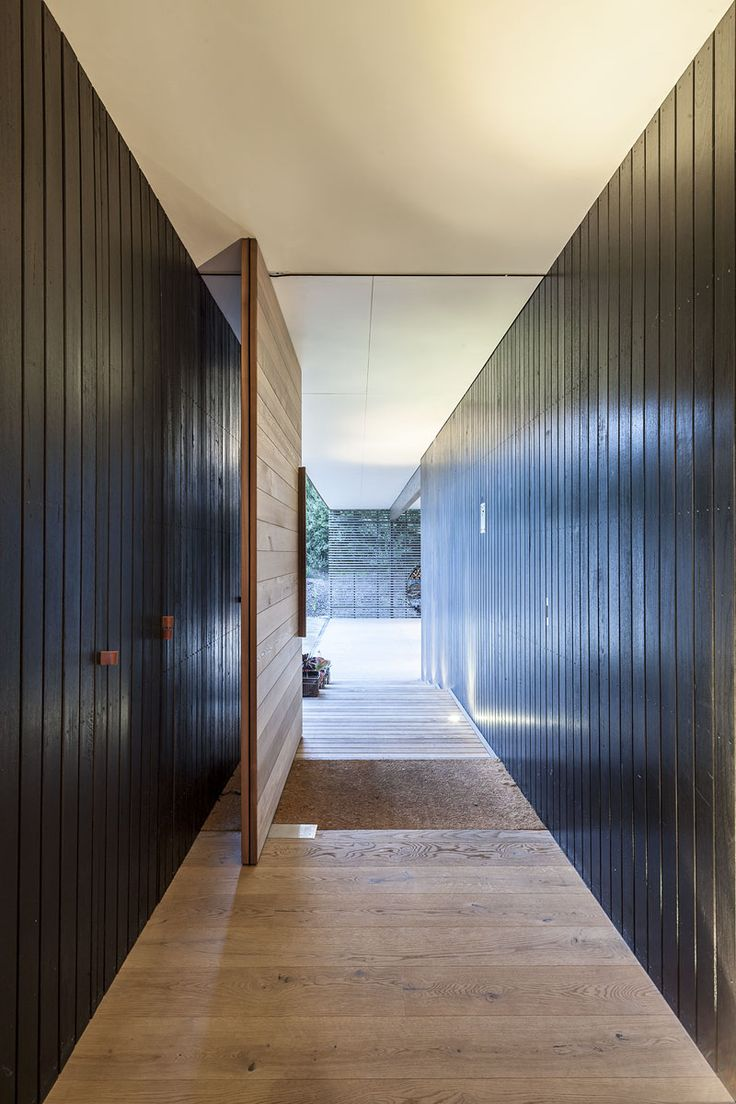 Front entry doors amp double doors in edmonton cambridge window - Pivot Door Road Fingal Residence By Jam Architecture 9
