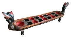 Hayo ingat permainan ini ga? Kapan terakhir bermain mainan tradisional ini?    Dakon............. — at Jogjakarta City.