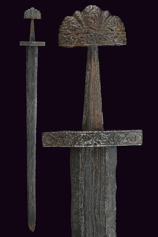 An important Viking sword,  			                			  			   			                        			                			  			provenance:  			   			Northern Europe  			                			  			dating:  			   			  			10th Century