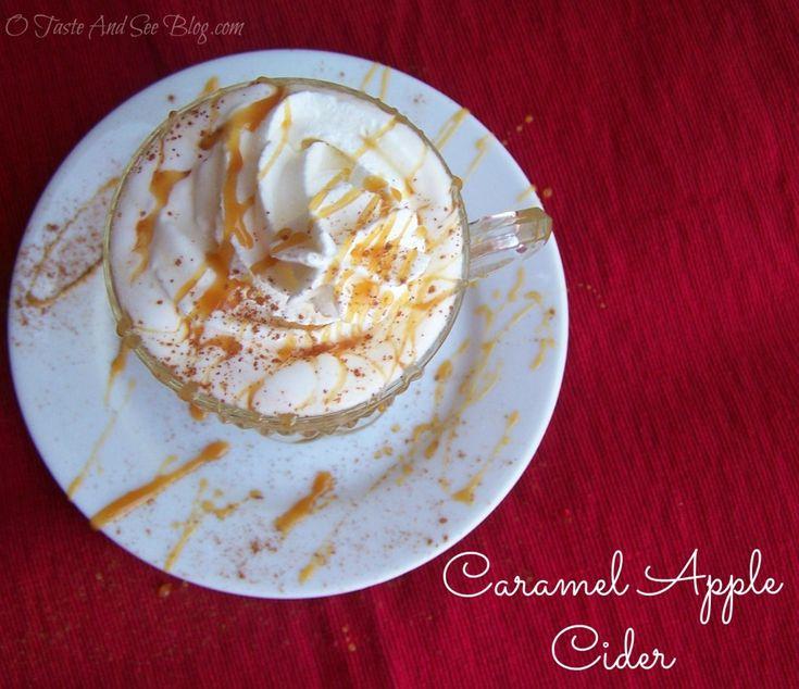 Caramel Apple Cider...tastes like apple pie