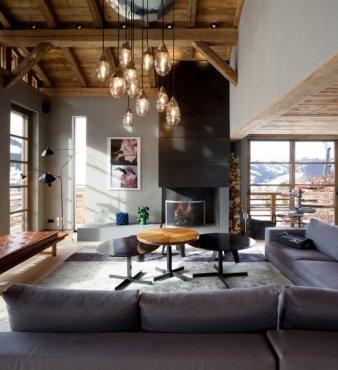 A Dream Cabin in France: Chalet Cyanella by BO Design