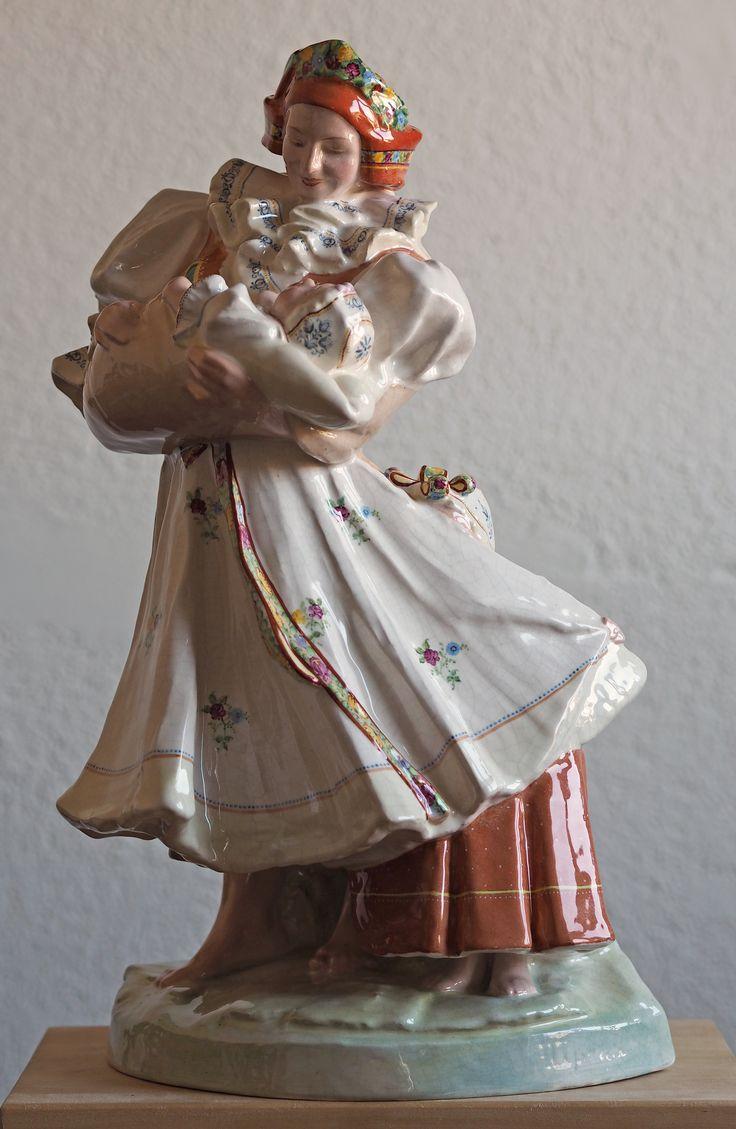 Franta Úprka: Maměnka, počátek 20. století