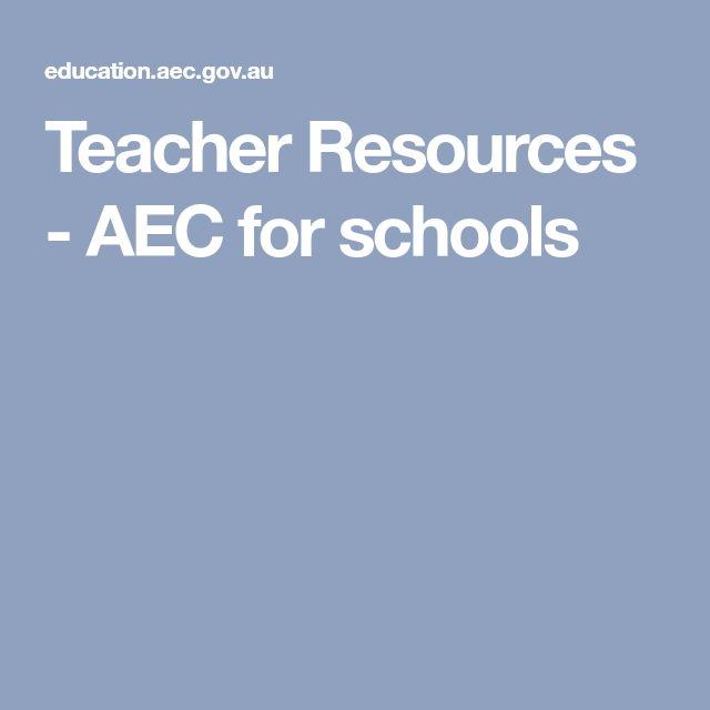Teacher Resources - AEC for schools