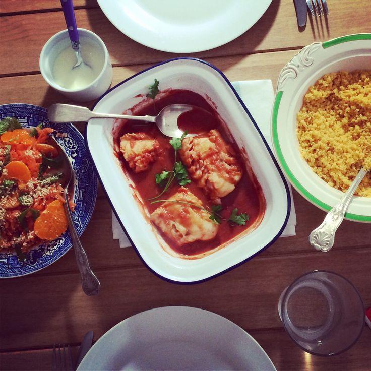 Fish tagine recipes jamie oliver