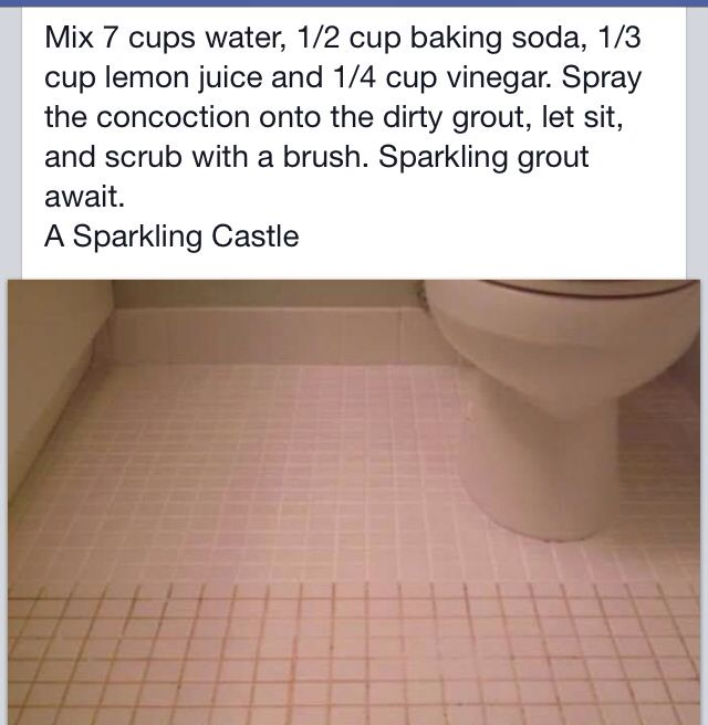 Best 25 Cleaning Bathroom Grout ideas on Pinterest Homemade