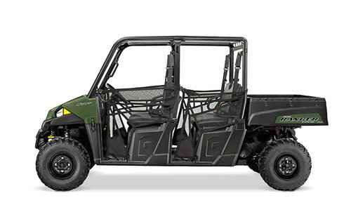 New 2016 Polaris Ranger Crew 570-4 Sage Green ATVs For Sale in Mississippi.