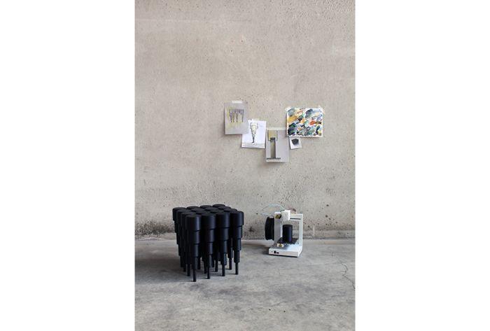 Archventil 3DStool / stool for desktop 3d printing