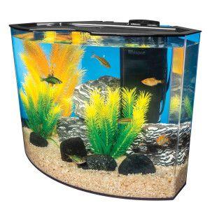 Marineland 5 gallon crescent aquarium system aquariums for Petsmart betta fish tanks