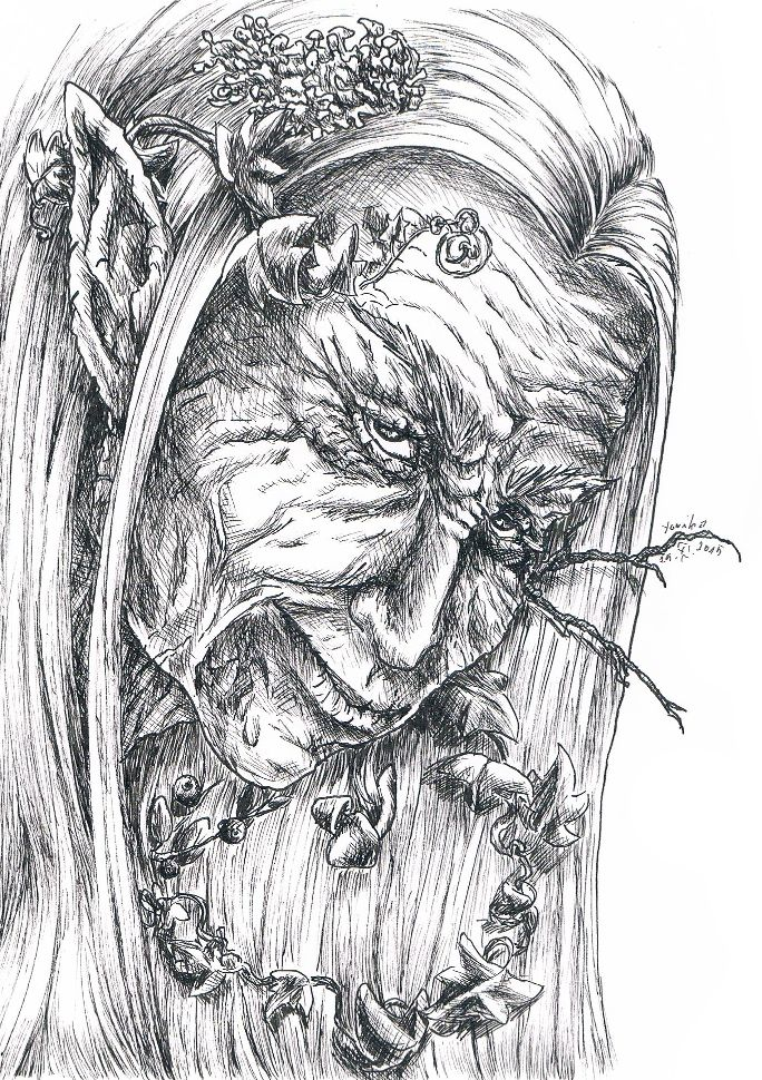 Talhar, one old elf.