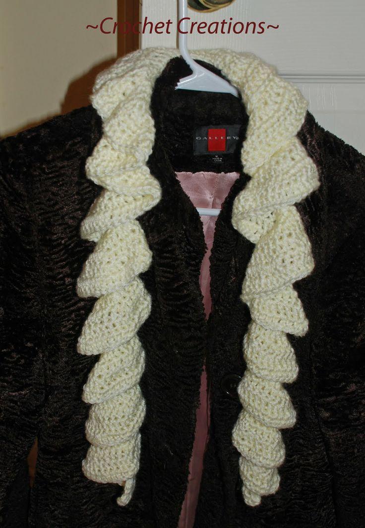 Luxury Crochet Curly Scarf Pattern Free Pattern Easy Scarf