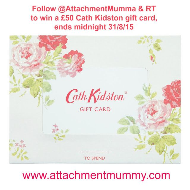 Attachment Mummy: August Giveaway: Win a £50 Cath Kidston Gift Card!...