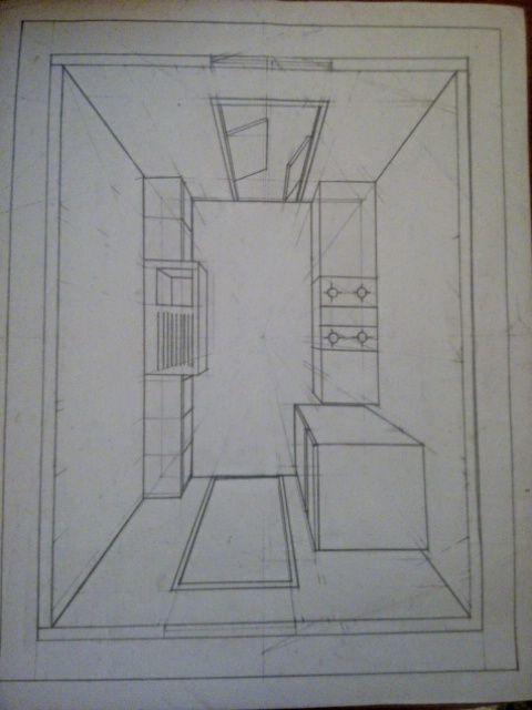Resultado de imagen de habitacion con perspectiva frontal