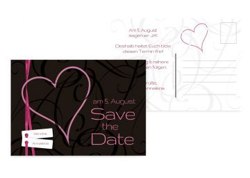 40 besten Wedding Save the Date cards Bilder auf Pinterest